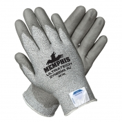 Memphis 9676 UltraTech PU Coated Palm Gloves - 13 Gauge Dyneema Shell - Gray