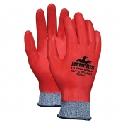 Memphis 9683CS UltraTech Cut & Splash Resistant Nitrile Coated Gloves - 10 Gauge Synthetic/Fiberglass Shell
