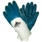 Memphis 9750 Predator Nitrile Palm Coated Gloves - Jersey Lined - Knit Wrist