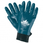 Memphis 9786 Predalite Light Fully Coated Nitrile Gloves - PVC Coated Safety Cuff