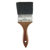 Rubberset Black China Bristle Chip Brush Wall 4 in.