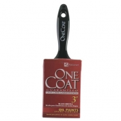 Rubberset One Coat Black China Bristle Brush Angle Sash 2 in.