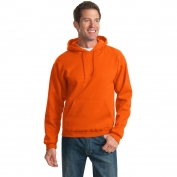 Jerzees 996M NuBlend Pullover Hooded Sweatshirt - Burnt Orange