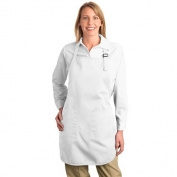 Port Authority A500 Full Length Apron with Pockets - White