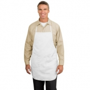 Port Authority A520 Full Length Apron - White