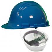 North A79 Peak Hard Hat - Nylon Suspension with Pinlock Adjustment - Sky Blue