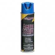 Ameri-Stripe Utility Marking Paint - 17 oz - Fluorescent Blue
