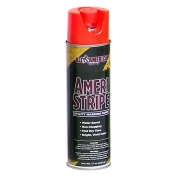 Ameri-Stripe Utility Marking Paint - 17 oz - Fluorescent Orange