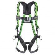 Miller AirCore Harness with side d-rings and Quick-Connect Buckles - Blue
