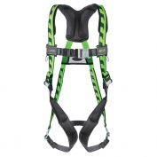 Miller AirCore Harness with Quick-Connect Buckles - Green