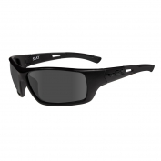 Wiley X Slay Sunglasses - Matte Black Frame - Grey Lens