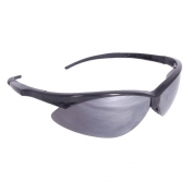 Radians Rad-Apocalypse Safety Glasses - Black Frame - Silver Mirror Lens