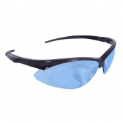 Radians Rad-Apocalypse Safety Glasses - Black Frame - Light Blue Lens