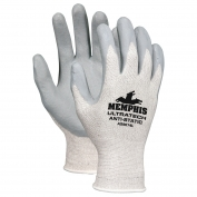 Memphis AS9674 UltraTech Anti-Static Nitrile Coated Gloves - 15 Gauge Silver/Nylon Shell