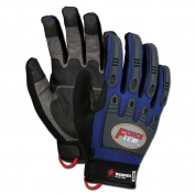 Memphis B100 ForceFlex Multi-Task Rough Grip Gloves - Molded TPR Padded Back