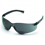 Crews BKHG BearKat Safety Glasses - Gray Temples - Gray Bifocal Lens