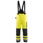 Blaklader 1685 Hi-Vis Rain Pants - Yellow/Black