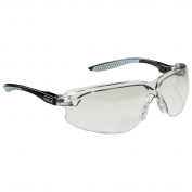 Bolle 40034 Axis Safety Glasses - Black Temples - Contrast Lens