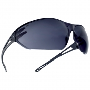 Bolle 40081 Slam Safety Glasses - Matte Black Temples - Smoke Anti-Fog Lens