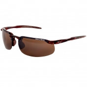 Bullhead BH10711 Swordfish Safety Glasses - Brown Frame - Brown Mirror Lens