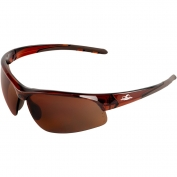 Bullhead BH1678 Wahoo Safety Glasses - Brown Frame - Brown Mirror Lens