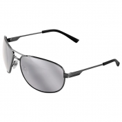 Bullhead BH24217 Acero Safety Glasses - Silver Temples - Silver Mirror Lens