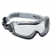 Bolle 40279 180 Vented Goggles - Black/Grey Frame - Clear Platinum Anti-Fog Lens