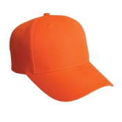 Port Authority C806 Solid Enhanced Visibility Cap - Safety Orange