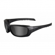 Wiley X Gravity Sunglasses - Matte Black Frame - Grey Lens