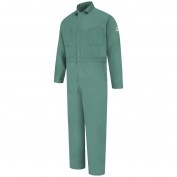 Bulwark FR CEW2VG Men's Classic Gripper-Front Coverall - EXCEL FR - 9.0oz.