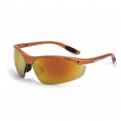 CrossFire Talon Safety Glasses - Copper Frame - Red Mirror Lens