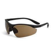 CrossFire Talon Safety Glasses - Black Frame - Brown Lens