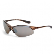 CrossFire Cobra Safety Glasses - Brown Frame - Brown Mirror Lens