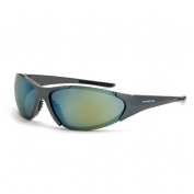 CrossFire Core Safety Glasses - Emerald Pearl Frame - Gold Mirror Lens