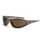 CrossFire Core Safety Glasses - Brown Frame - Brown Polarized Lens