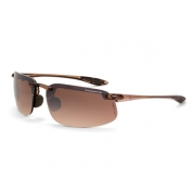 CrossFire ES4 Safety Glasses - Brown Frame - Brown Mirror Lens