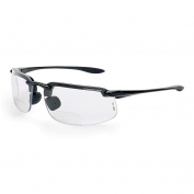 CrossFire 2164RX ES4 Safety Glasses - Black Frame - Clear Bifocal Lens