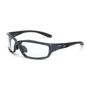 CrossFire Infinity Safety Glasses - Gray Frame - Clear Lens