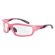CrossFire Infinity Safety Glasses - Pink Frame - Clear Lens