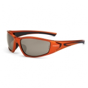 CrossFire RPG Safety Glasses - Orange Frame - Copper Lens
