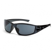 CrossFire RPG Safety Glasses - Black Frame - Smoke Lens