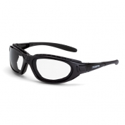 CrossFire Journey Safety Glasses - Black Foam Lined Frame - Clear Anti-Fog Lens