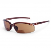 CrossFire ES5 Safety Glasses - Brown Frame - Brown Bifocal Lens