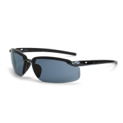 CrossFire ES5 Safety Glasses - Gray Frame - Smoke Lens