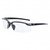CrossFire ES5 Safety Glasses - Dark Gray Frame - Clear Bifocal Lens
