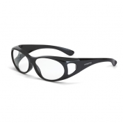 CrossFire OG3 Safety Glasses - Clear Lens - Fits Small to Medium Glasses