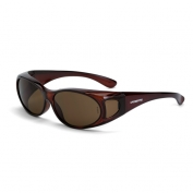 CrossFire OG3 Safety Glasses - Brown Lens - Fits Small to Medium Glasses