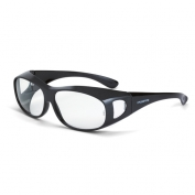 CrossFire OG3 Safety Glasses - Clear Lens - Fits Large to Extra Large Glasses
