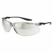 CrossFire 37415 24Seven Safety Glasses - Black Temples - Indoor/Outdoor Lens