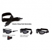CrossFire ES28 Elastic Strap - Fits All Journey Glasses